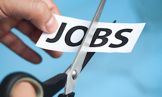 Should employers support non-terminated workers during layoffs?
