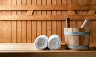 How do employees feel about workplace saunas?