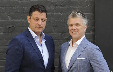 Angelo Tsebelis & Dr. Peter Blecher