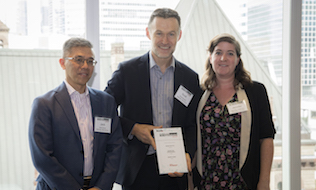 Samuel, Son & Co. rides benefits communication harmony to award win