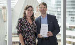 CAAT wins pension performance award for membership growth strategy