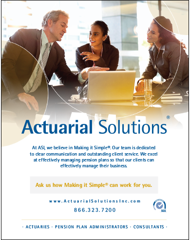 Ask us how making it simple can work for you. Ad by Actuarial Solutions