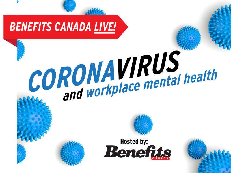 Webinar: Coronavirus and workplace mental health