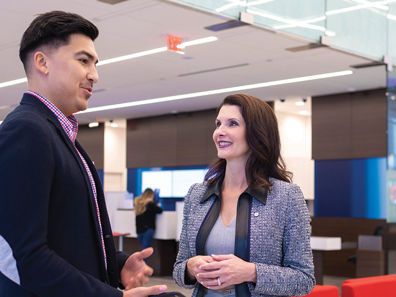 Q&A with BMO Financial Group's Mona Malone