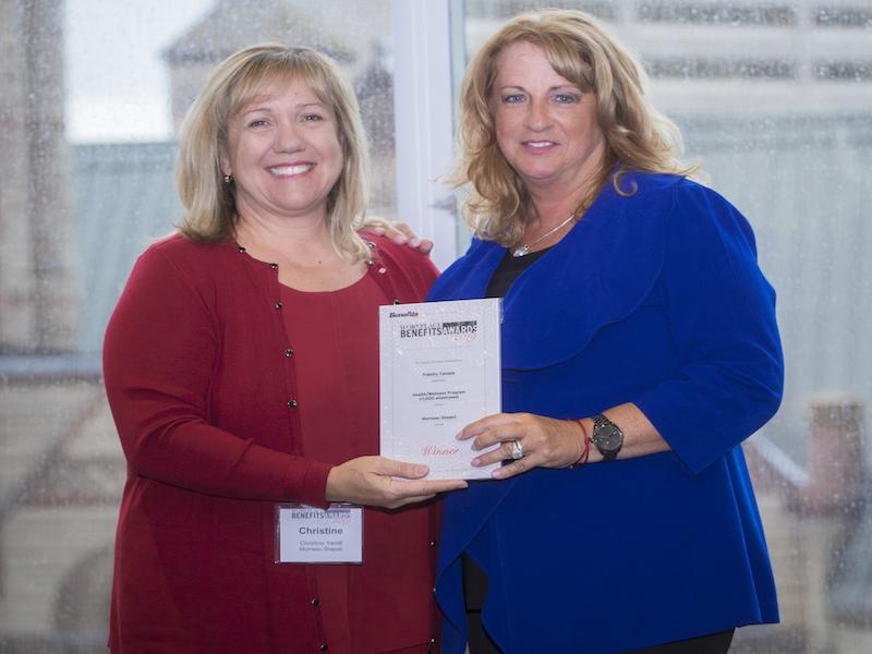 Fidelity Canada wins award for holistic health program