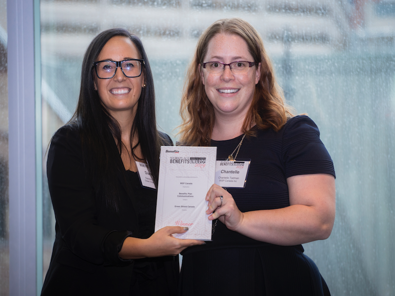 Innovative benefits communication nets award for WSP Canada