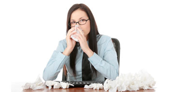 Coming to work sick tops office pet peeves: survey