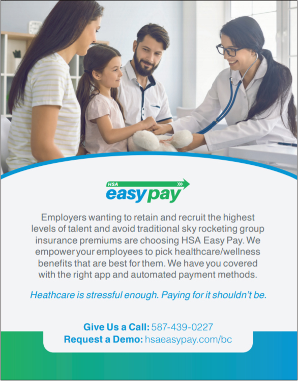 H S A Easy Pay. Employers wanting to retain and recruit the highest levels of talent and avoid traditional sky rocketing group insurance premiums are choosing HSA Easy Pay. We empower your employees to pick healthcare/wellness benefits that are best for them. We have you covered with the right app and automated payment methods. Heathcare is stressful enough. Paying for it shouldn't be.
